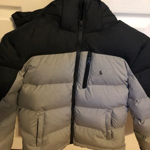 Ralph Lauren Polo boys puffer jacket size M 8-10